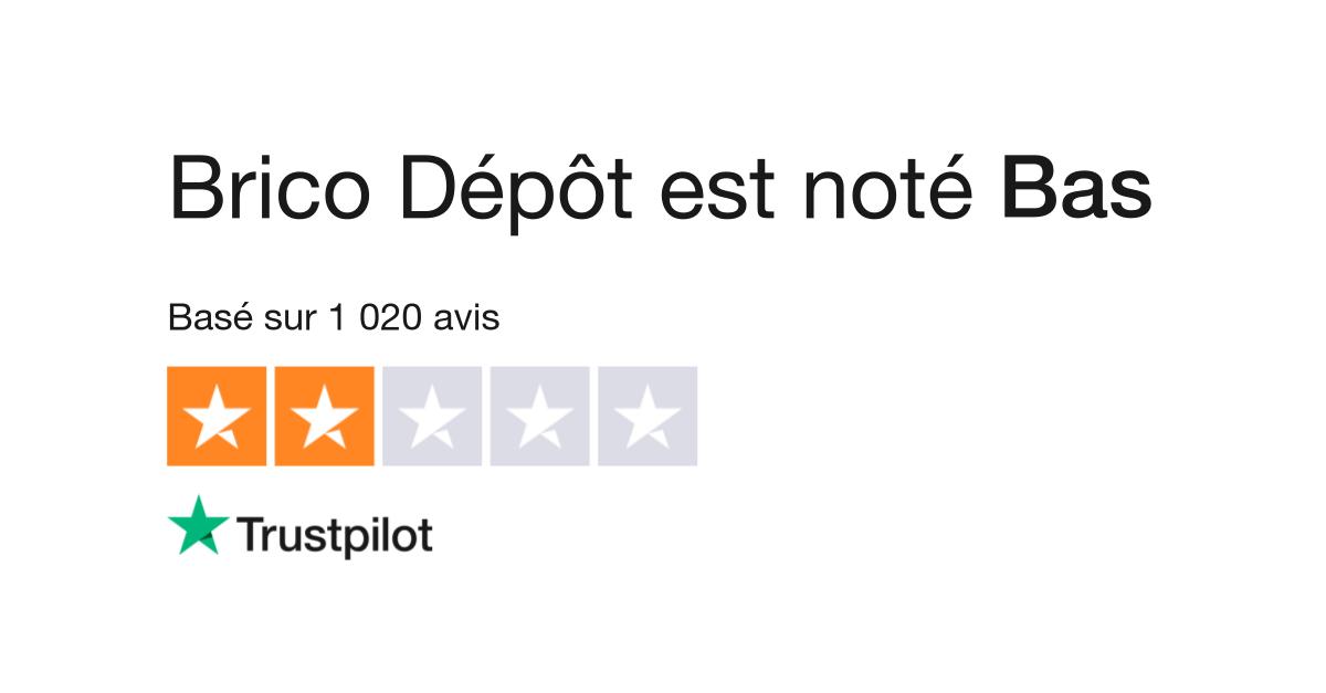Avis De Brico Depot Lisez Les Avis Clients De Bricodepot Fr