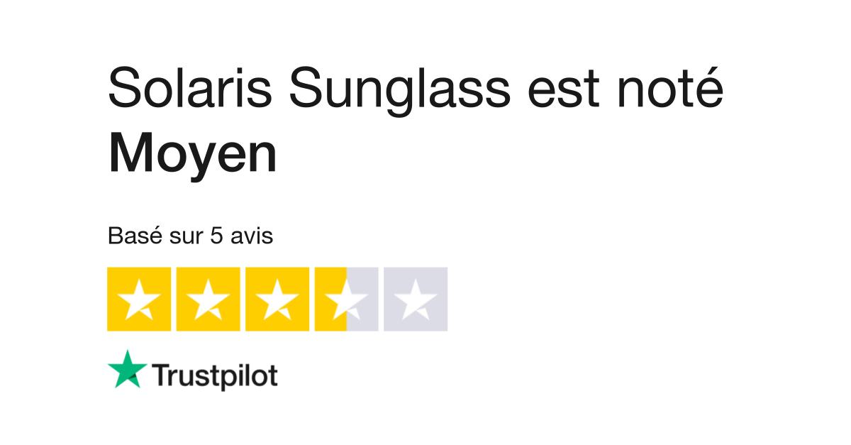 071ddd099c9eac Avis de Solaris Sunglass