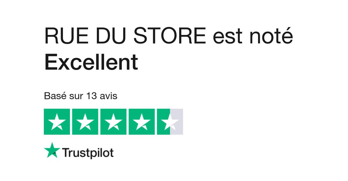 avis de rue du store | lisez les avis clients de ruedustore.fr