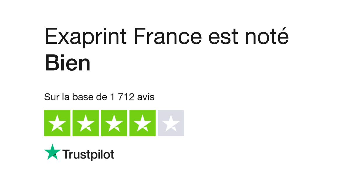 Avis De Exaprint France