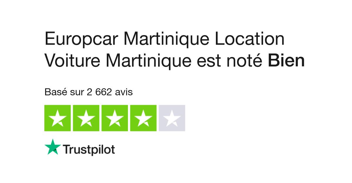 avis de europcar martinique location voiture martinique lisez les avis clients de europcar. Black Bedroom Furniture Sets. Home Design Ideas