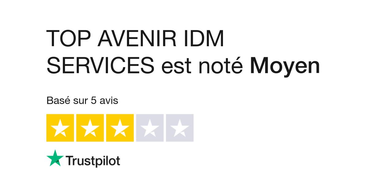 Avis de TOP AVENIR IDM SERVICES   Lisez les avis clients de www.top-avenir .fr 2d20aaef598b