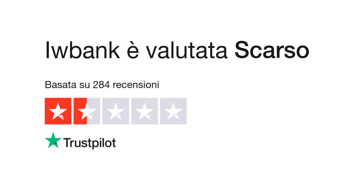 Iwbank | Leggi le recensioni dei servizi di iwbank.it