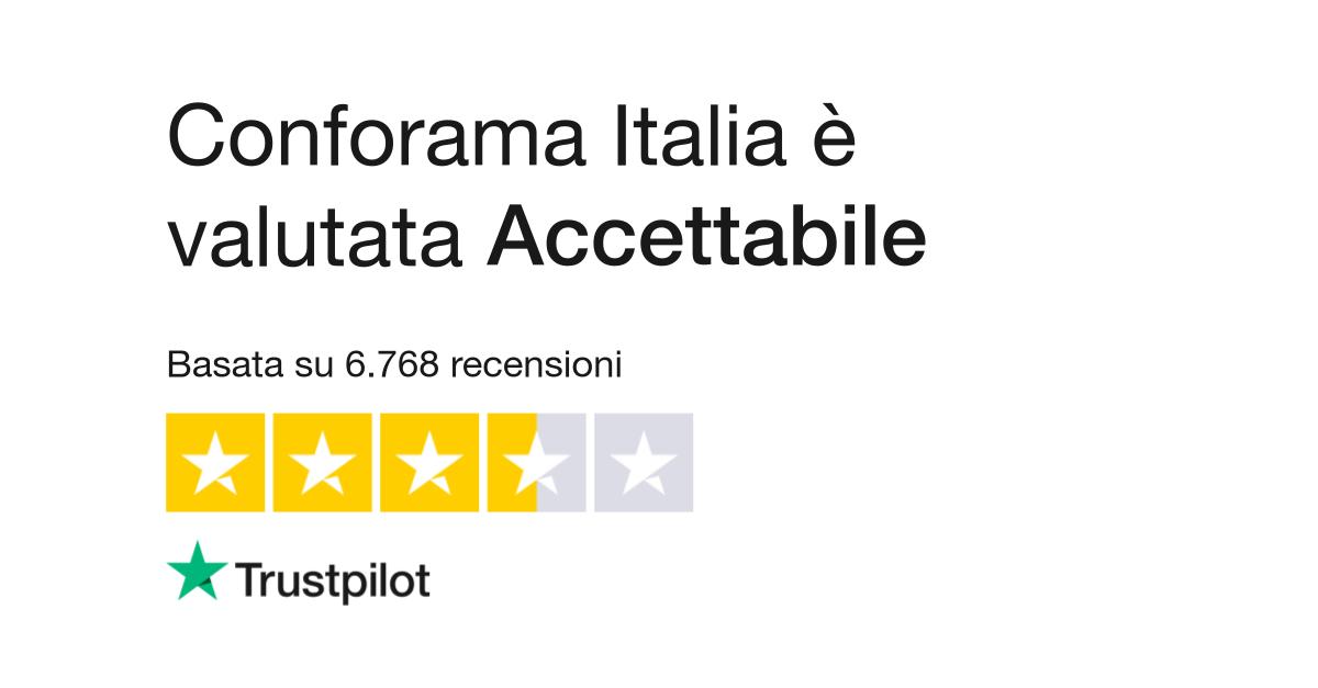 Conforama Italia | Leggi le recensioni dei servizi di www ...