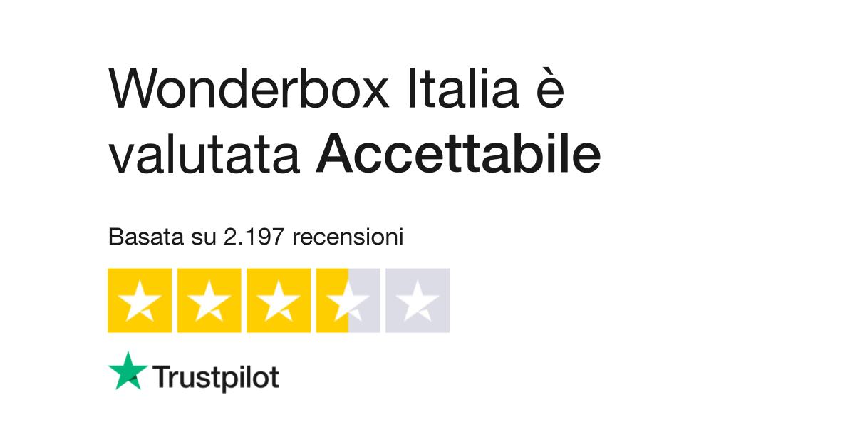 Wonderbox | Leggi le recensioni dei servizi di wonderbox.it