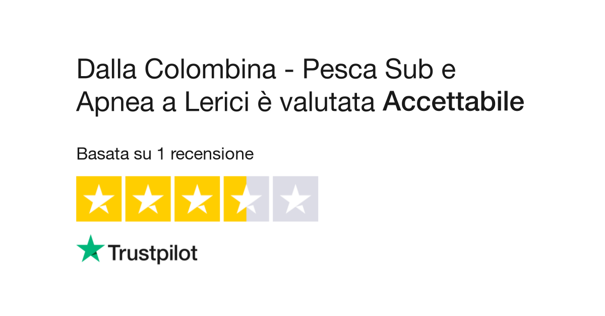 Dalla Colombina - Pesca Sub e Apnea a Lerici | Leggi le recensioni ...
