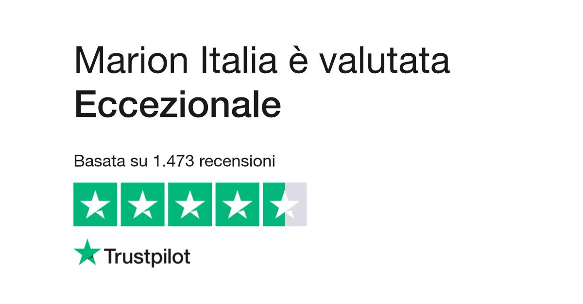 Marion Italia | Leggi le recensioni dei servizi di www.marionlatex.com