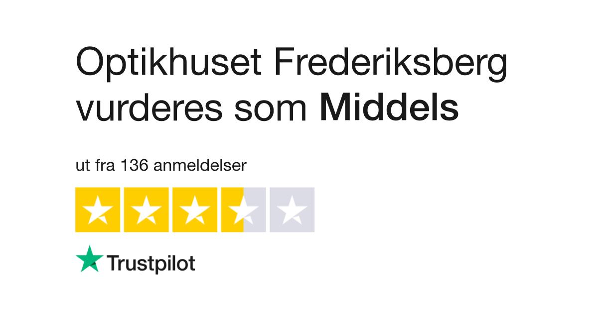12f042d546ec Optikhuset Frederiksberg Anmeldelser