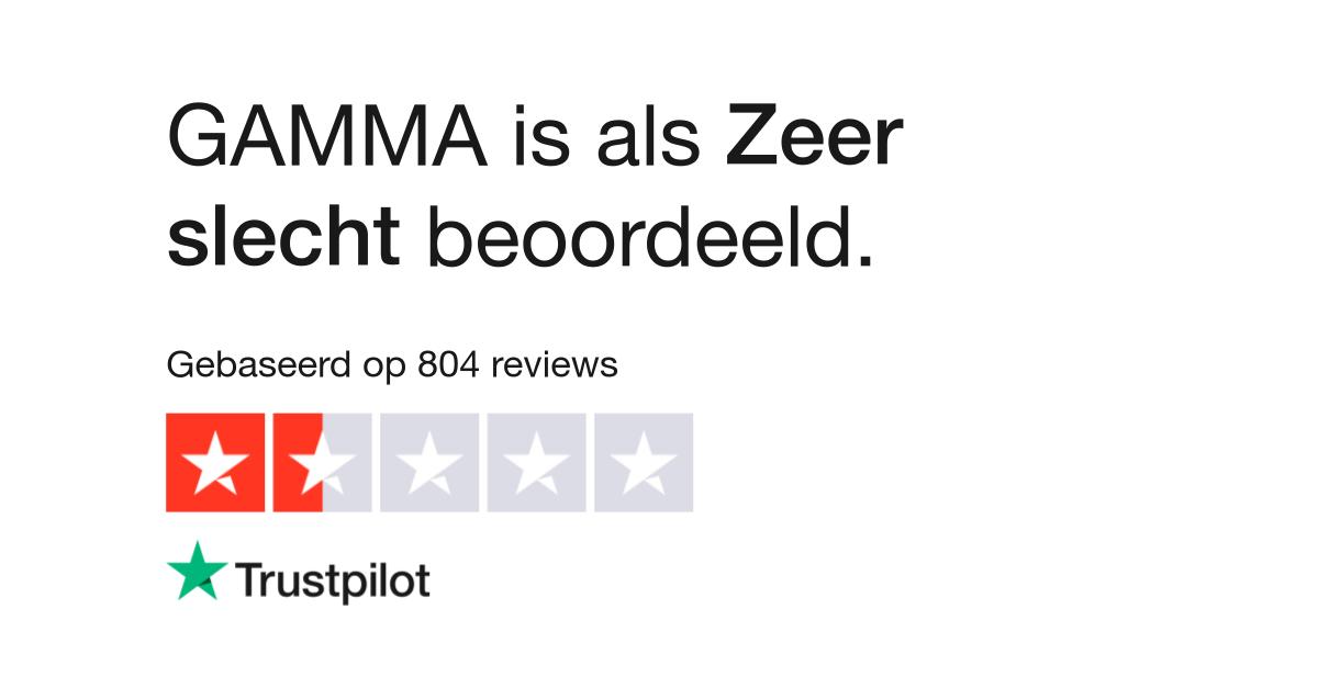 Spiegel Op Maat Gamma.Gamma Reviews Lees Klantreviews Over Www Gamma Com