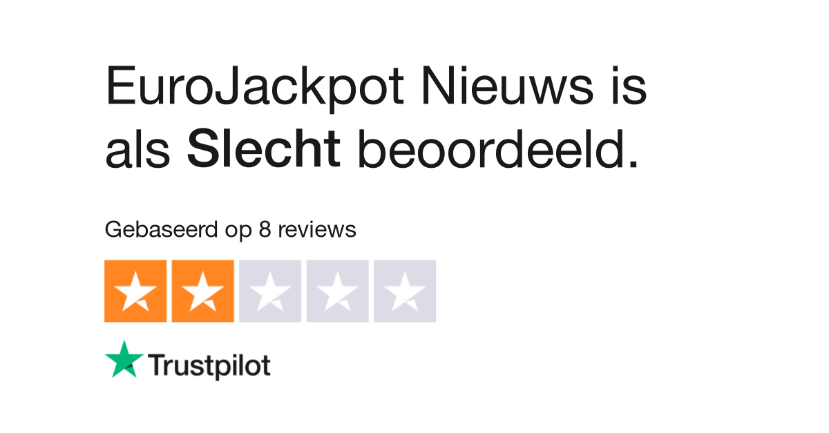 Eurojackpot Nl Uitslag