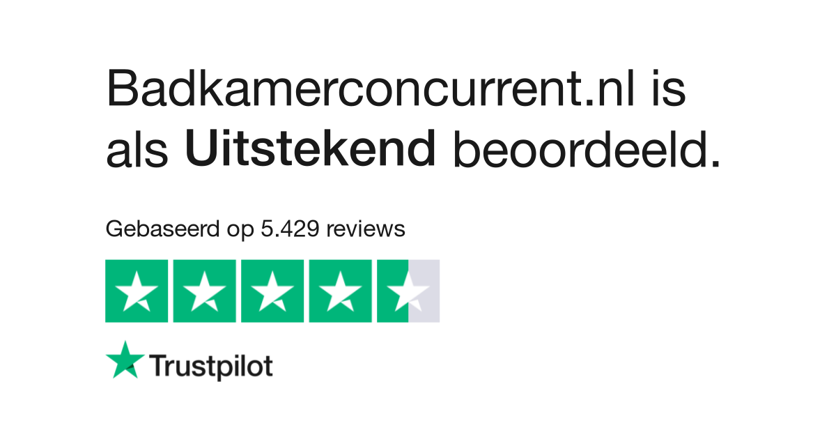 Badkamerconcurrent.nl reviews| Lees klantreviews over www ...