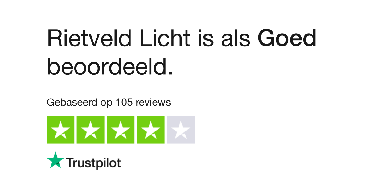 rietveld reviews lees klantreviews over wwwrietveldlichtnl