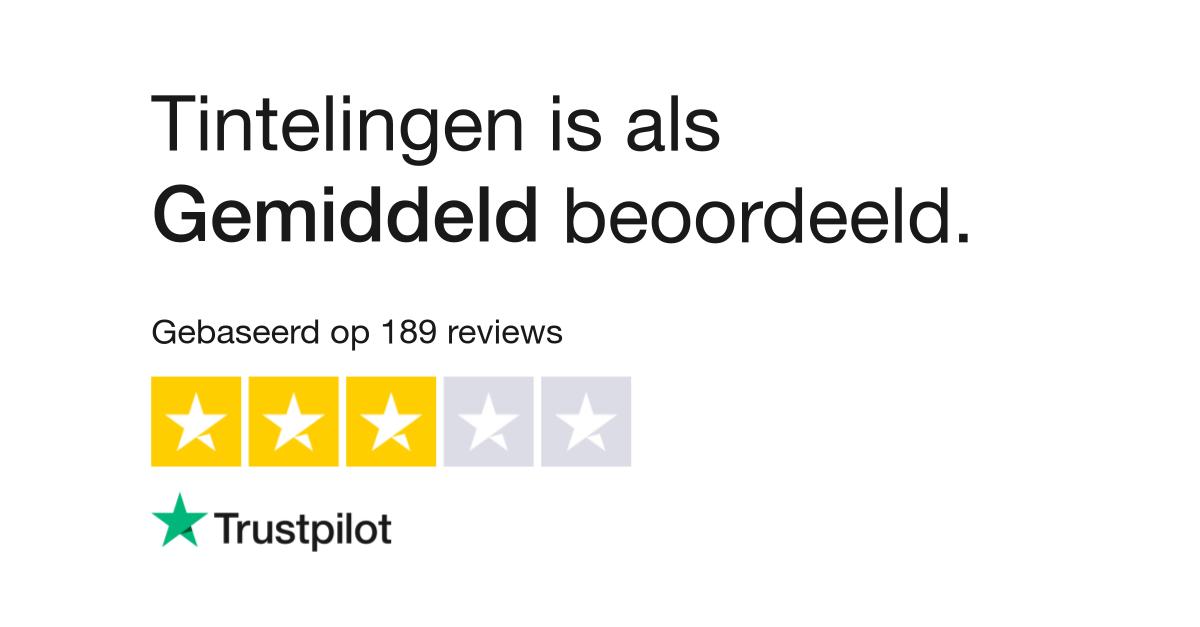 Tintelingen Reviews Lees Klantreviews Over Www Tintelingen Nl