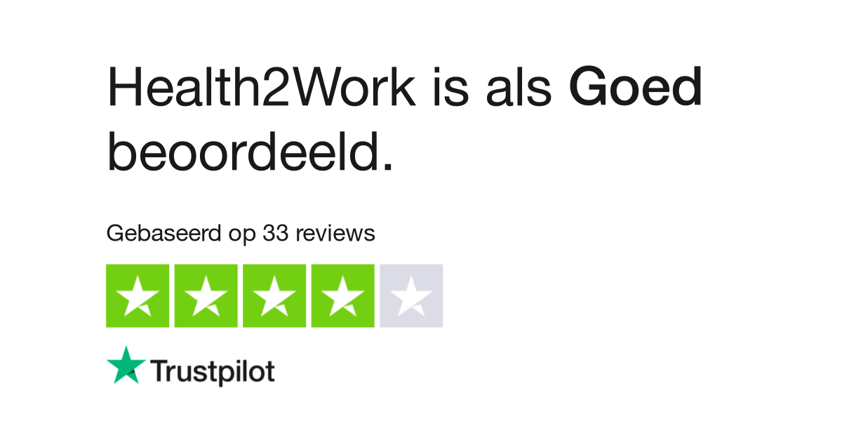 Health 2 Work.Health2work Reviews Lees Klantreviews Over Www Health2work Nl