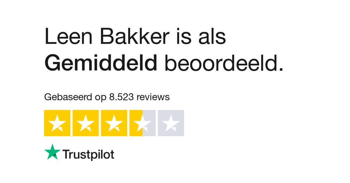 leenbakker reviews lees klantreviews over wwwleenbakkernl