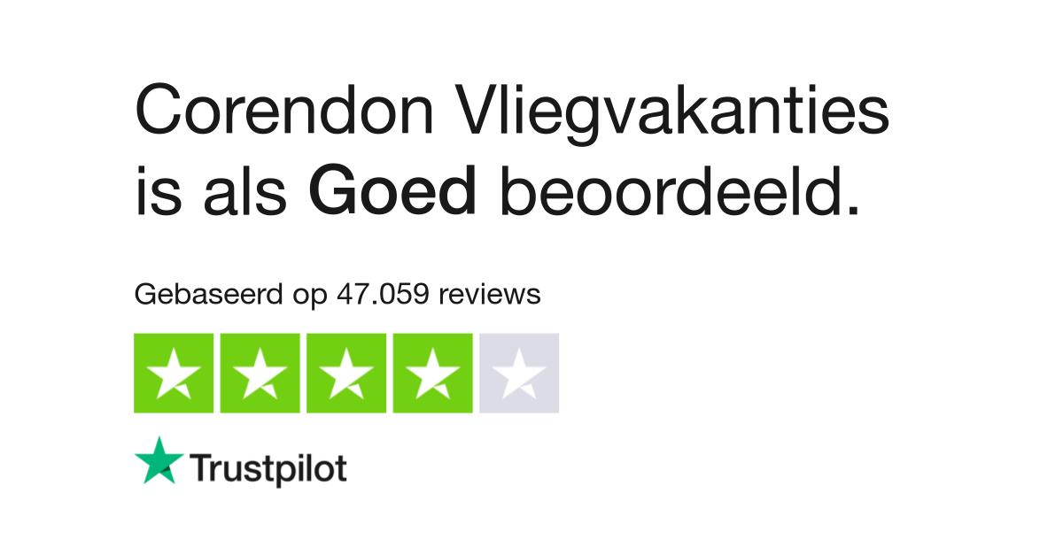 Corendon Vliegvakanties reviews  Lees klantreviews over www