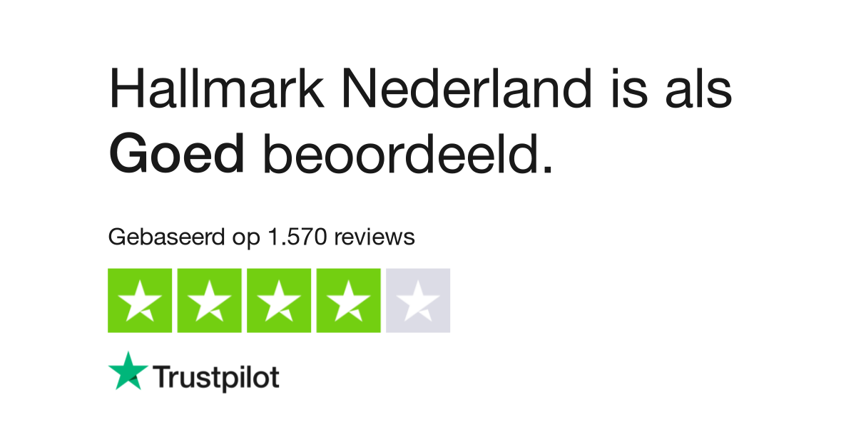 Hallmark Nederland Reviews Lees Klantreviews Over Www Hallmark Nl