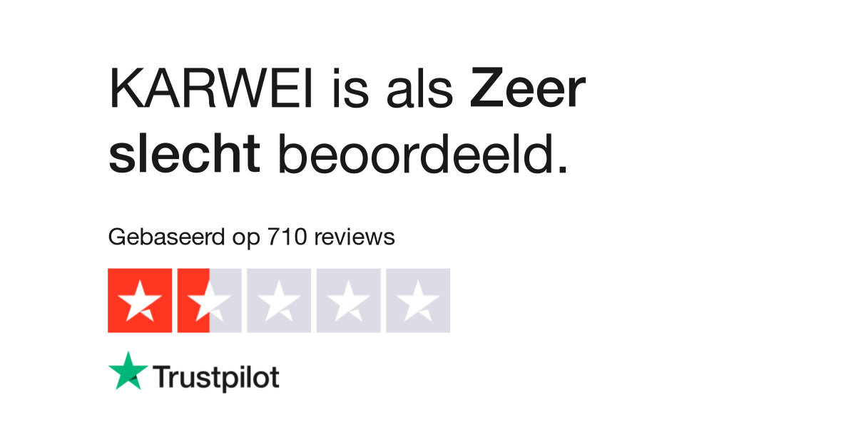 KARWEI reviews| Lees klantreviews over www.karwei.nl | 6 van 7