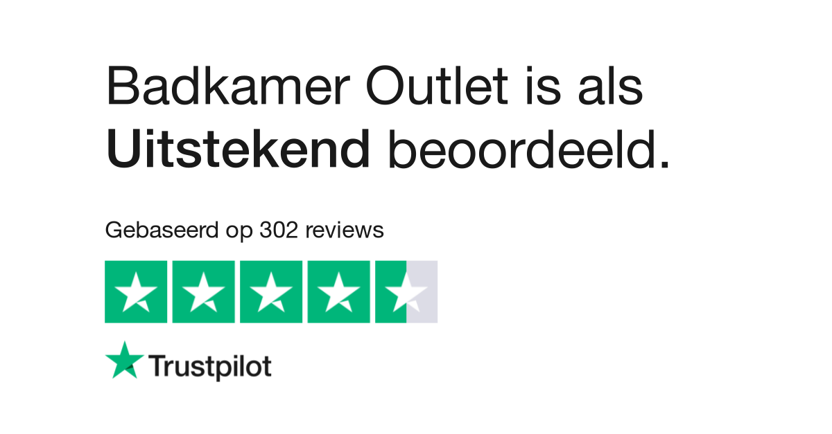 Badkamer Outlet reviews| Lees klantreviews over badkamer-outlet.nl