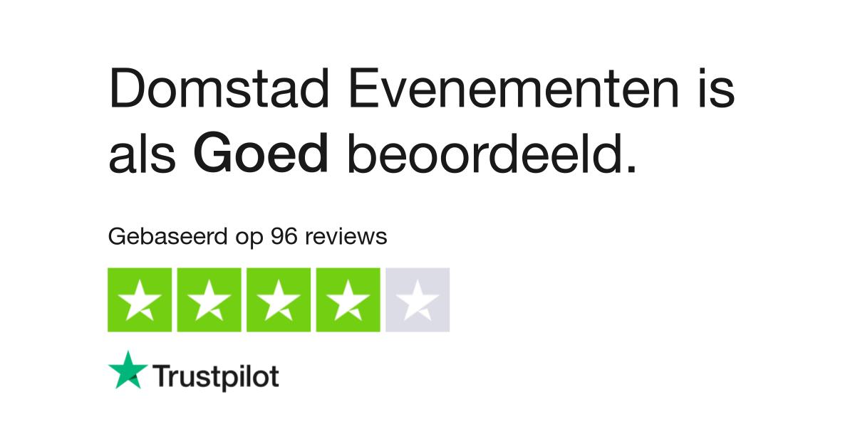 Domstad Evenementen Reviews Lees Klantreviews Over Domstadevenementen Nl