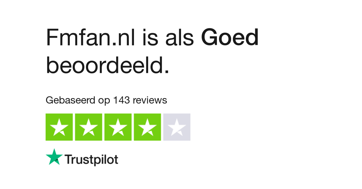 Fmfan.nl reviews| Lees klantreviews over fmfan.nl