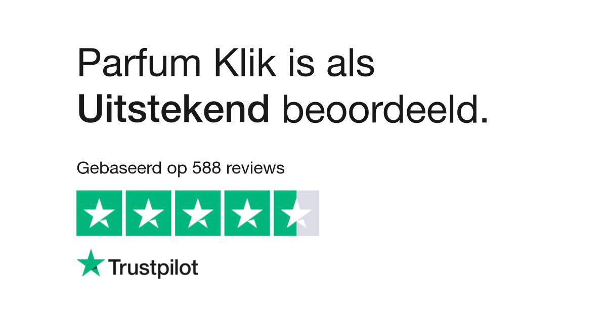 Parfum Klik reviews| Lees klantreviews over parfum klik.be