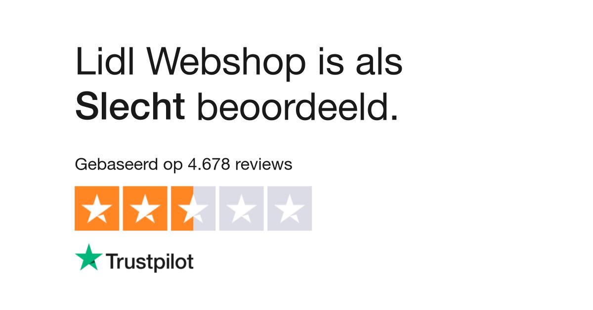 d70c03ea7b4 Lidl Webshop reviews  Lees klantreviews over lidl-shop.nl