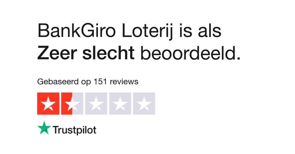 Bankgiro Loterij Reviews Lees Klantreviews Over Www