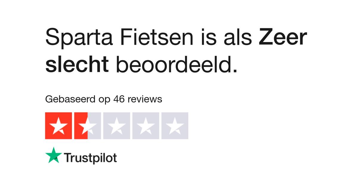 Sparta Fietsen Reviews Lees Klantreviews Over Sparta Nl