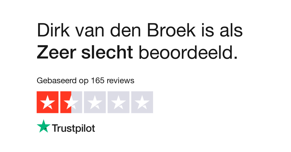 company rating?locale=nl NL&businessUnitId=5cee15927383ae000100ff56 - Dirk Vd Broek Almere Buiten