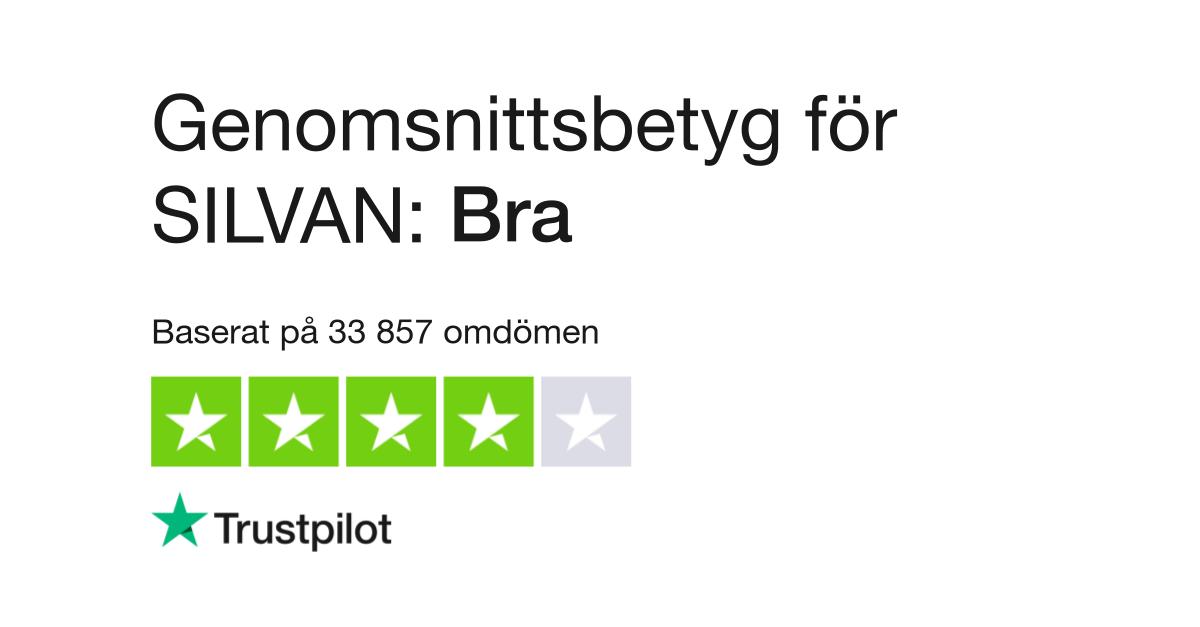 Kæmpestor Omdömen om SILVAN | Läs kundernas omdömen om www.silvan.dk MN92