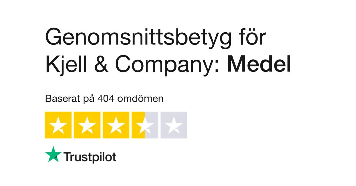 Omdömen om Kjell & Company   Läs kundernas omdömen om www