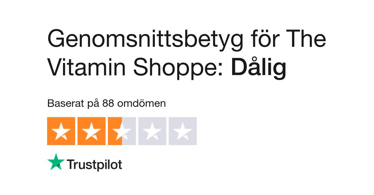 Omdömen om The Vitamin Shoppe   Läs kundernas omdömen om www