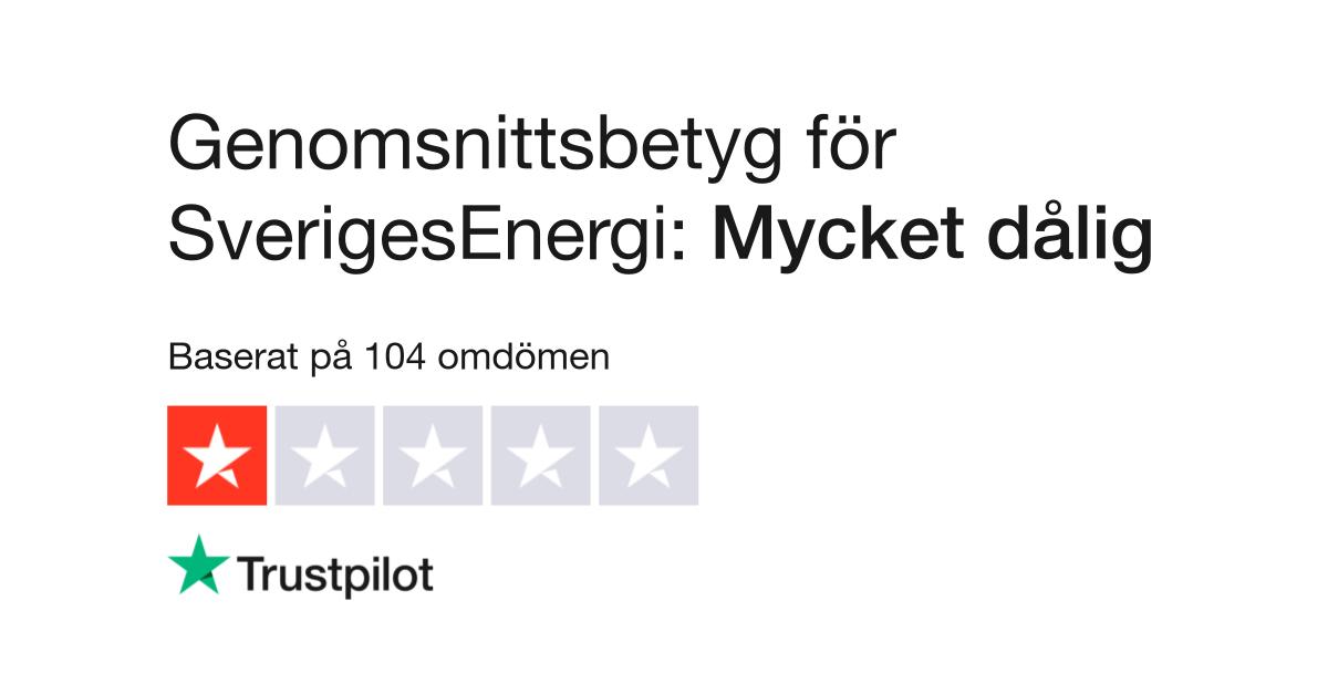 be12049a5bce Omdömen om SverigesEnergi | Läs kundernas omdömen om sverigesenergi.se