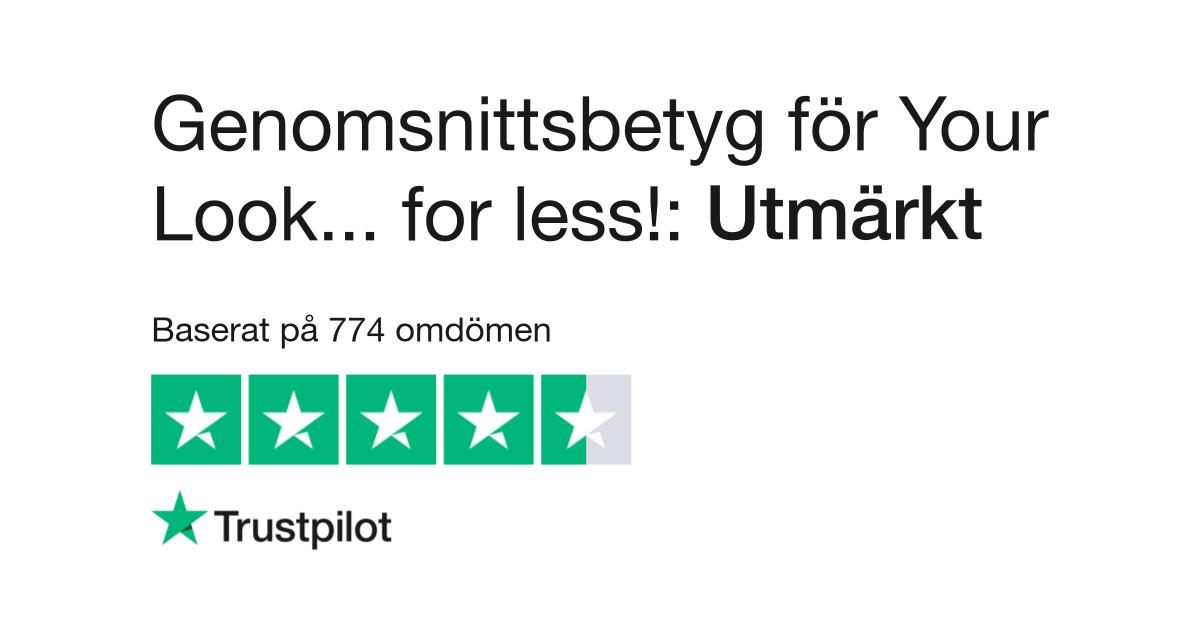 Läs kundernas omdömen om your-look-for-less.se 82046d0921dbf