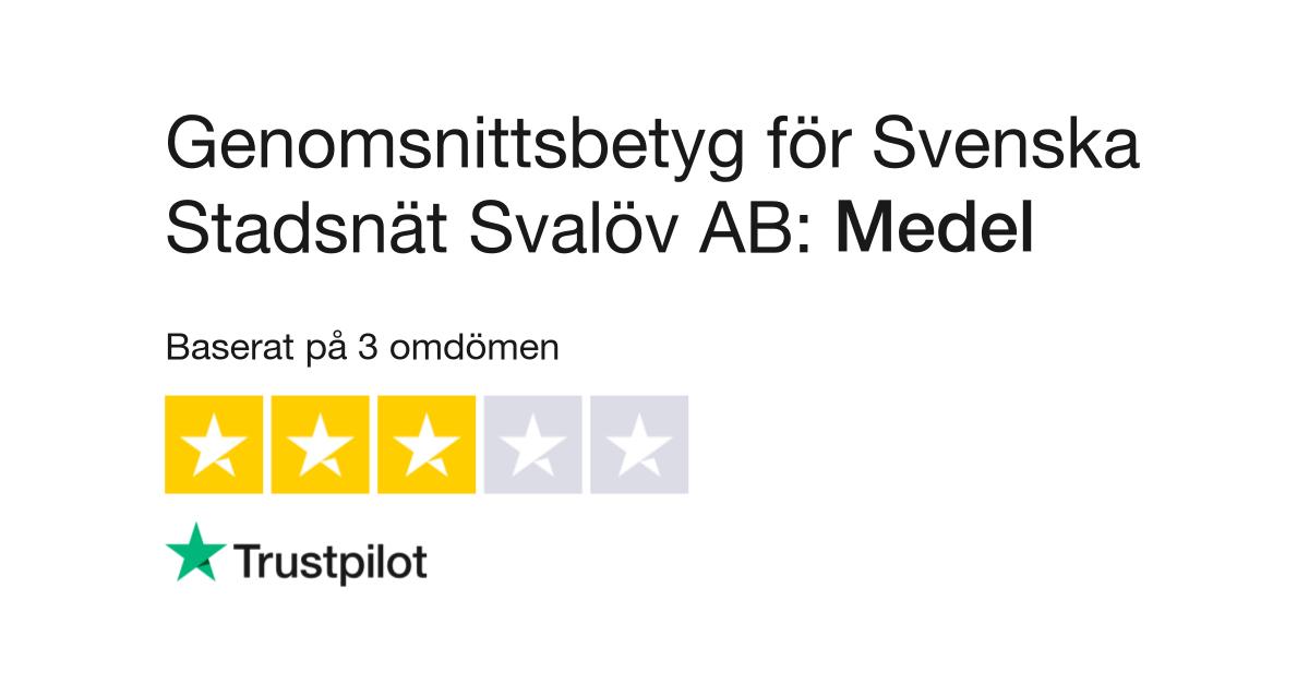 svenska stadsnät svalöv